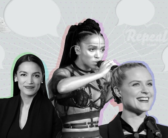 Evan Rachel Wood, AOC,FKA Twigs