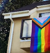 Locals are showing their support for Waterford's LGBTQI+ community following homophobic incidents