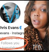 Lizzo slides into Chris Evans' DMs and his reaction is everything