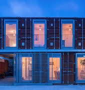 Inside the incredible shipping container house in Ringsend