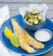 What to eat this weekend: Fish n' courgette chips with homemade tartar sauce