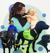 Life-changing stories: 'Guide dog Nina is my guardian angel. She shows me the way'