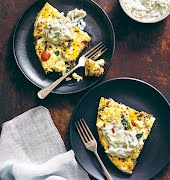 Looking for brunch inspo? Try this keto-friendly Greek frittata